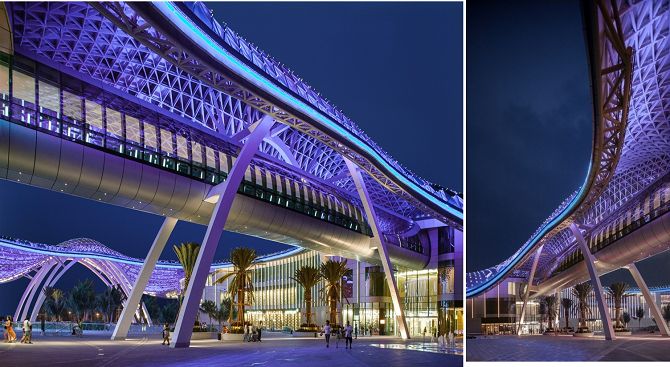 Sanya Shopping Center Panorama Lighting Consultants Intl